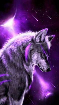 Fantasy wolf wallpaper by georgekev - 13 - Free on ZEDGE™ Artwork Lobo, Wolf Artwork, Fantasy Artwork, Tier Wallpaper, Animal Wallpaper, Trendy Wallpaper, Wallpaper Pictures, Iphone Wallpaper Wolf, Beautiful Wallpaper