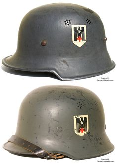 Helmet German WWII Red Cross (Deutsche Rotes Kreuz -- DRK)