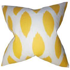 Juliaca Ikat Throw Pillow