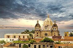 By the Sea. Cartagena, Colombia.