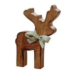 Standing Wooden Reindeer Gustav H17Cm Wooden Christmas Ornaments, Christmas Art, Christmas Ideas, Wooden Reindeer, Small Wood Projects, Drift Wood, Scroll Saw, Wooden Crafts, Homemaking