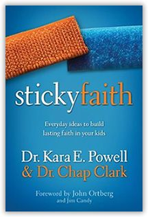 Sticky Faith: Helping Kids Retain Their Faith - Youth experts Kara Powell and Chap Clark provide practical suggestions for parents to better model their faith for their kids and emphasize a personal relationship with Jesus Christ.