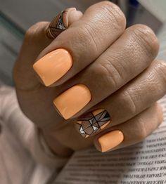New Nail Trends, Nail Color Trends, Nail Colors, Short Nails, Long Nails, Nail Polish Style, Spring Nails, Nail Designs, Nail Art