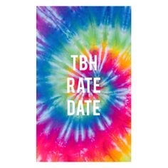 Tbh•Rate•Date #instagram