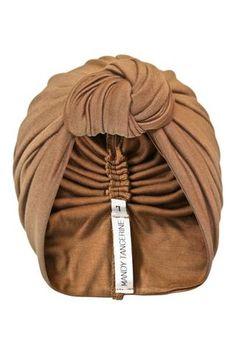 Vintage Gold Knot Turban