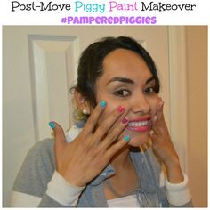 Time for a Post-Move Piggy Paint Makeover #PamperedPiggies #Ad