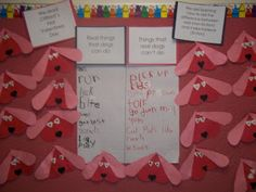 Mrs. Wood's Kindergarten Class: Valentine's Day Real Dogs vs. Fictional dogs with Clifford