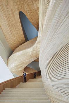 Harbin Opera House by MAD Architects / Harbin – China. … Harbin Opera House by … Architecture Durable, Architecture Résidentielle, Modern Architecture Design, Cultural Architecture, Futuristic Architecture, Sustainable Architecture, Beautiful Architecture, Architecture Foundation, Architecture Student