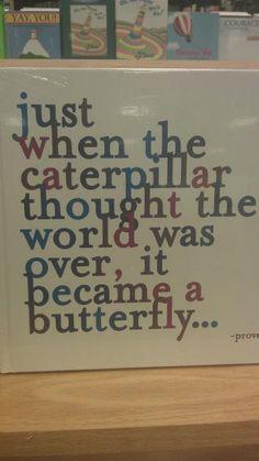 Transform, don't quit