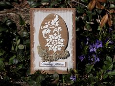 Easter card, handmade card for Easter Easter Card, Decorations, Handmade, Hand Made, Dekoration, Ornaments, Decor, Decoration, Embellishments