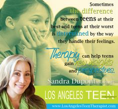 With all the changes going on in adolescence, could your teen use some therapeutic support this year?  www.LosAngelesTeenTherapist.com