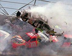 Talladega crash...