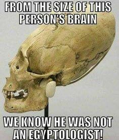 I belive he was not am egyptologist.