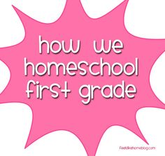 Our First Grade Homeschool Curriculum on http://www.feelslikehomeblog.com