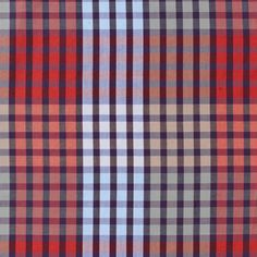 plaid update... perfect short sleeve this spring from Perry Ellis