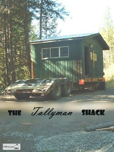 The Tallyman Shack - recycle and reuse... Green Building Materials | Garden Shed
