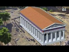 Ancient Isthmia. Temple of Poseidon.   Here Alexander the Great was appointed commander of all the Greeks. YouTube