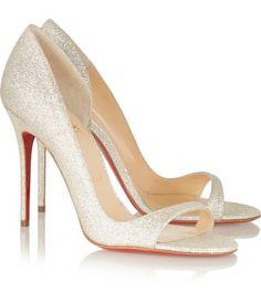 Chaussures de mariées : notre sélection pour le printemps - été 2015 #Louboutin