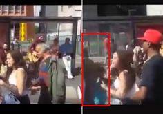 Vídeo mostra homem tentando levar criança na Avenida Paulista