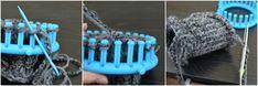 DIY Loom-Knit Boot Cuffs