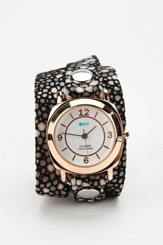 My favorite watch brand is now at Urban Outfitters too bad I don't agree with the politicians their company president supports  La Mer Stingray Wrap Watch