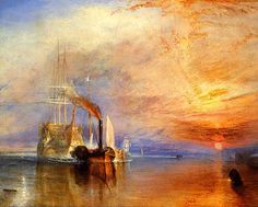 Joseph Mallord William Turner  The Fighting Temeraire