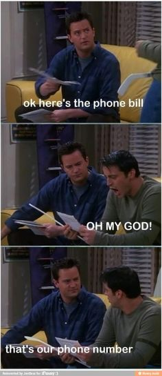 Joey :) LOL this episode was so funny See great new Friends TV Show merchandise at http://www.cafepress.com/TheCouchPotato