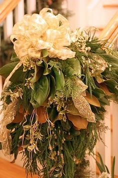 Christmas Mantel Decorations, Christmas Mantle Decorating Ideas, Christmas Garland Decorations — Balancing Beauty and Bedlam