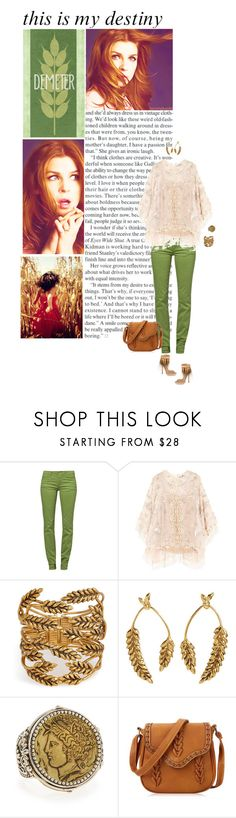 """Alice Green ( Percy Jackson)"" by rayon-de-soleil ❤ liked on Polyvore featuring Monkee Genes, Biyan, Aurélie Bidermann, Alexander McQueen and Konstantino"