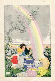 Rainbow's End ~ Gertrude Kay, 1920