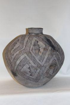 Native American Pre historic Anasazi Olla, ca 1100-1200 AD #24