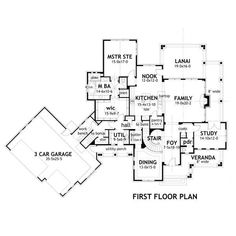 TheHouseDesigners-3151 Construction-Ready Large Farm House Plan with Slab Foundation (5 Printed Sets) Farmhouse Plans, Farmhouse Design, Modern Farmhouse, Country Farmhouse, Country Living, Country Style, Slab Foundation, Construction Documents, Monster House Plans