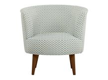 The Lulu Scoop Chair in honeycomb weave makes a comfortable and striking addition to your living room. Designed by Allegra Hicks and made in the UK.