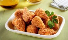 A coxinha de farinha de milho adiciona um sabor inovador à sua receita.