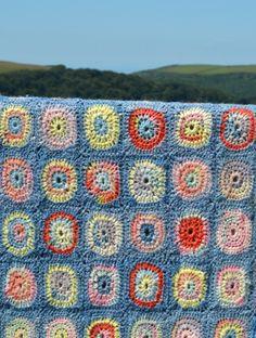 Into The West Crochet Motif Blanket Book (PDF Crochet E-Book) - Natural Dye Studio