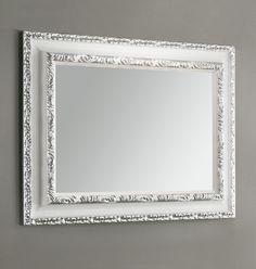 #Eban #specchio Marika | #Vetro e #legno | su #casaebagno.it | #composiozioni #mobili #bagno #arredamento #design