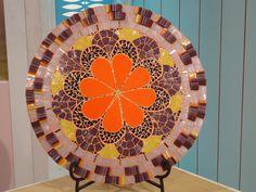 Mosaiquismo- Mandala con borde en movimiento