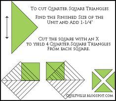 Math Tricks with Specialty Rulers!  Quiltville's Quips & Snips by Bonnie Hunter. Tips for using Easy Angle and Companion Angle rulers.