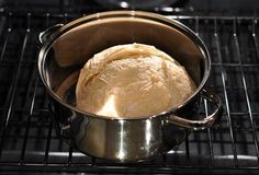 No-knead bread. Not that I need a no-knead bread recipe really since I have a bread maker. But intrigued by the part where you bake the final bread in a dutch oven. Knead Bread Recipe, No Knead Bread, Bread Recipes, Cooking Recipes, Baby Recipes, Oven Recipes, Biscuits, Recipe 30, Easy Bread