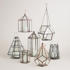 One of my favorite discoveries at WorldMarket.com: Riley Faceted Lantern Collection