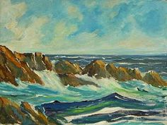 Esther Rose, Seascape of Carmel-by-the-Sea, California