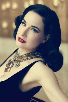 Want to know what you can expect from the long awaited Dita Von Teese beauty book? Find out here http://www.burlexe.com/dita-von-teese-beauty-book/
