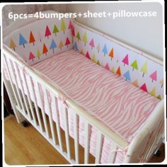 43.80$  Buy now - http://alig4e.worldwells.pw/go.php?t=32381431260 - Promotion! 6PCS 100% cotton baby safety fence, washable bed around kits, customizable baby products (bumpers+sheet+pillow cover)