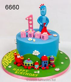 Iggle Piggle, Upsy Daisy & Friends - sweet fantasies cakes