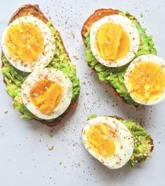 This Is The New Avocado Toast—And It's So Easy To Make Paleo Sweet Potato Toast – Author: The Dish on HealthyServes: 1 large sweet tablespoon oil of [. Sweet Potato Toast, Paleo Sweet Potato, Sweet Potato Recipes, Sweet Potato Breakfast, Avocado Toast, Avocado Breakfast, Healthy Egg Breakfast, Avocado Dessert, Avocado Salad Recipes
