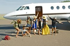 Jetsetting with the girls...Always a good time!