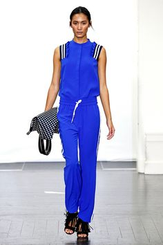 The Fashion Girl's Way To Make Sporty Work #refinery29  http://www.refinery29.com/athletic-wear-for-women