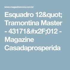 "Esquadro 12"" Tramontina Master - 43171/012 - Magazine Casadaprosperida"