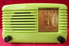 Vintage Working 1949 Philco Transitone Bakelite Tube Radio Model 49 500 | eBay