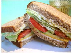 Mother Nature's Healthy Sandwich